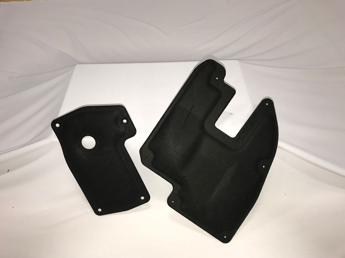 Compression molding for automotive parts and rapid prototyping.